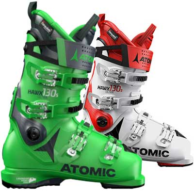 Atomic - hawx ultra 130 s 2019 white/red e green/blue