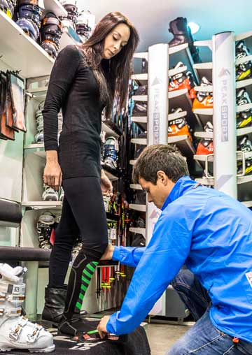 Bootfitting service